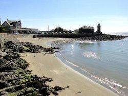Sandy Beach at Portpatrick Harbour