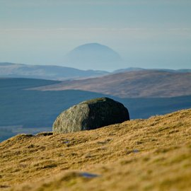 Ailsa Craig from The Merrick - photo by Leeming & Paterson