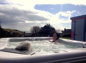 Portpatrick B&B Hot tub