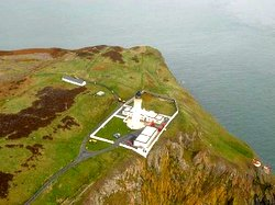 Mull of Galloway Lighthouse from the Air