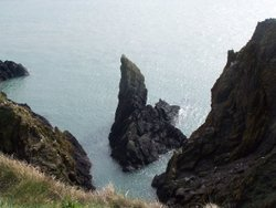 North Witch Rock near Portpatrick