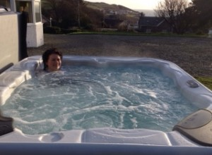 hot tub in portpatrick