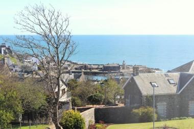 B&B in portpatrick sea view