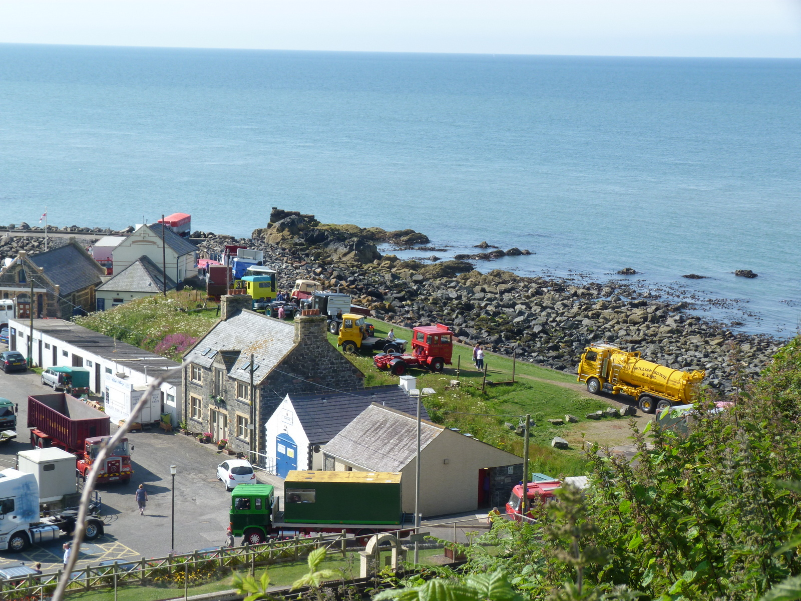 Ayrshire Vintage Commercial Vehicle Road Run To Portpatrick