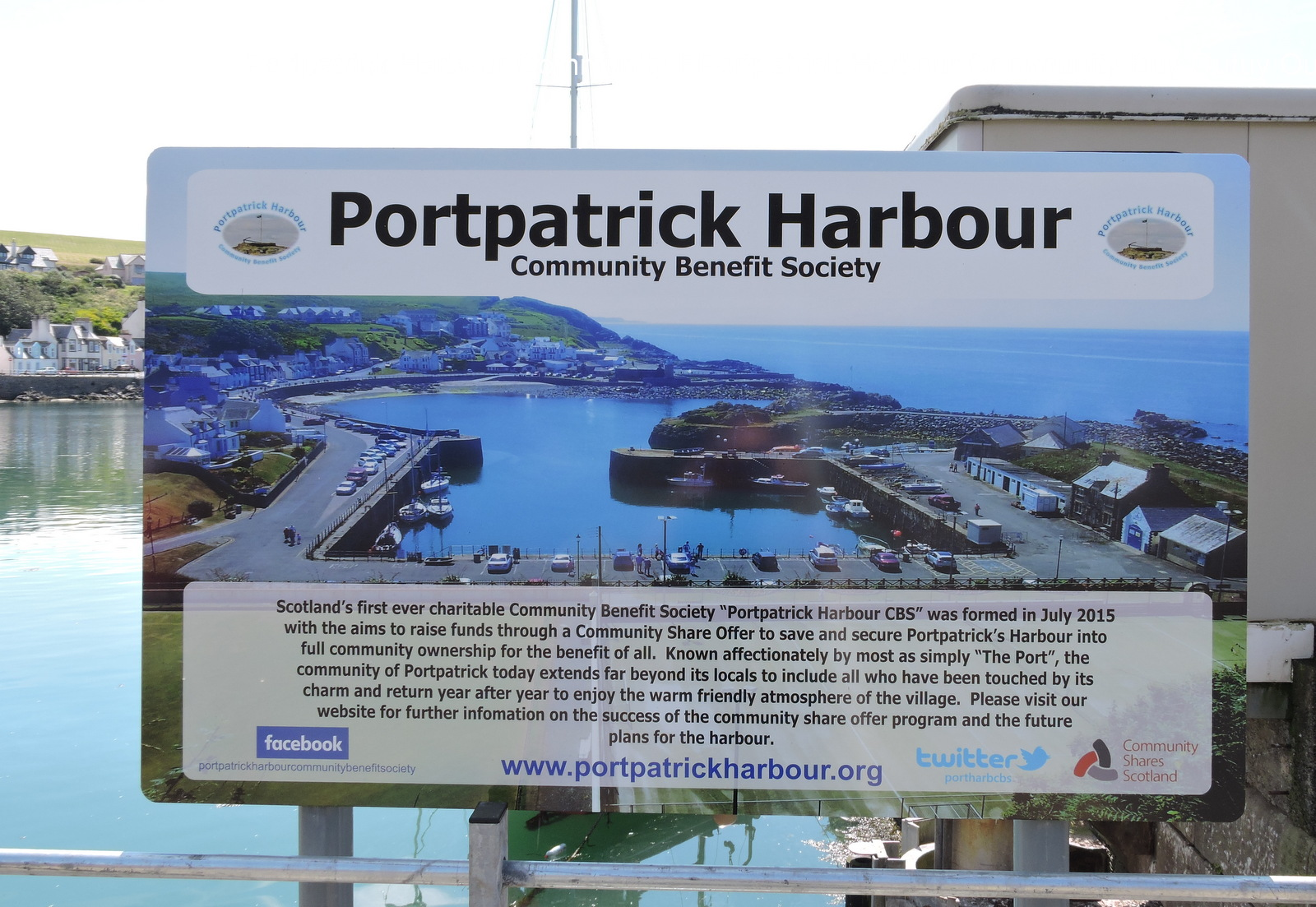 Portpatrick Harbour Share Offer Should Make History
