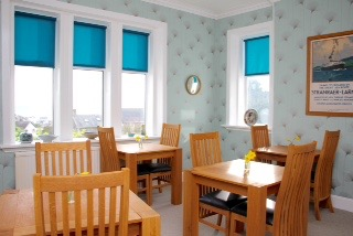 rickwood b&B portpatrick dining room