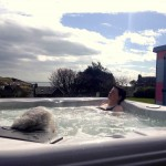 Portpatrick B&B Hot tub