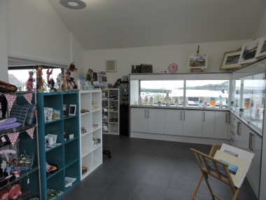 Gift Shop at St Ninians Isle of Whithorn