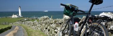 sw300 cycling near Portpatrick