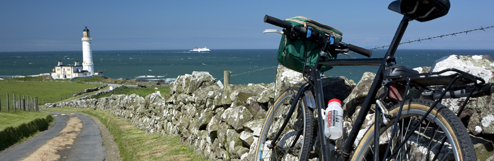 Quite country roads, unspoilt views - this part of Scotland is ideal for cyclists with lots of interesting places to visit all within a 30 mile radius.