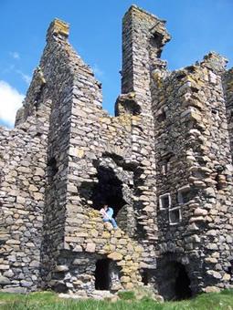 Dunskey Castle Ruins