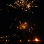 fireworks at portpatrick lifeboat week