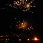 fireworks at portpatrick lifeboat week