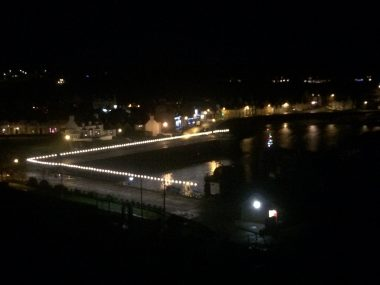 Portpatrick lights up South West Scotland